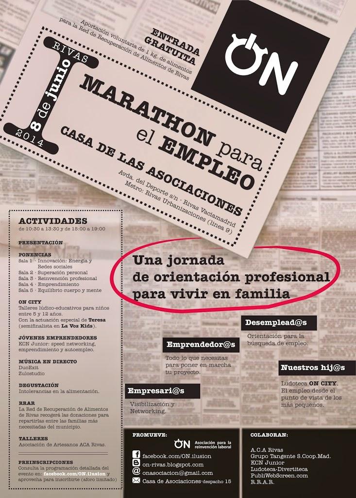 Cartel Marathon para el Empleo