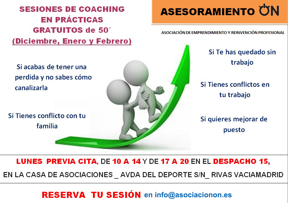 Sesiones de Coaching Gratuito