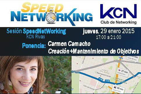 Sesión Speed Networking en Rivas – KCN y Asociación ON