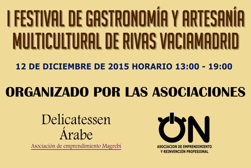 I Festival de Gastronomía y Artesanía Multicultural de Rivas Vaciamadrid