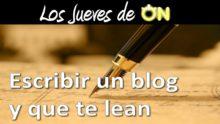 Escribir un Blog y posicionarlo