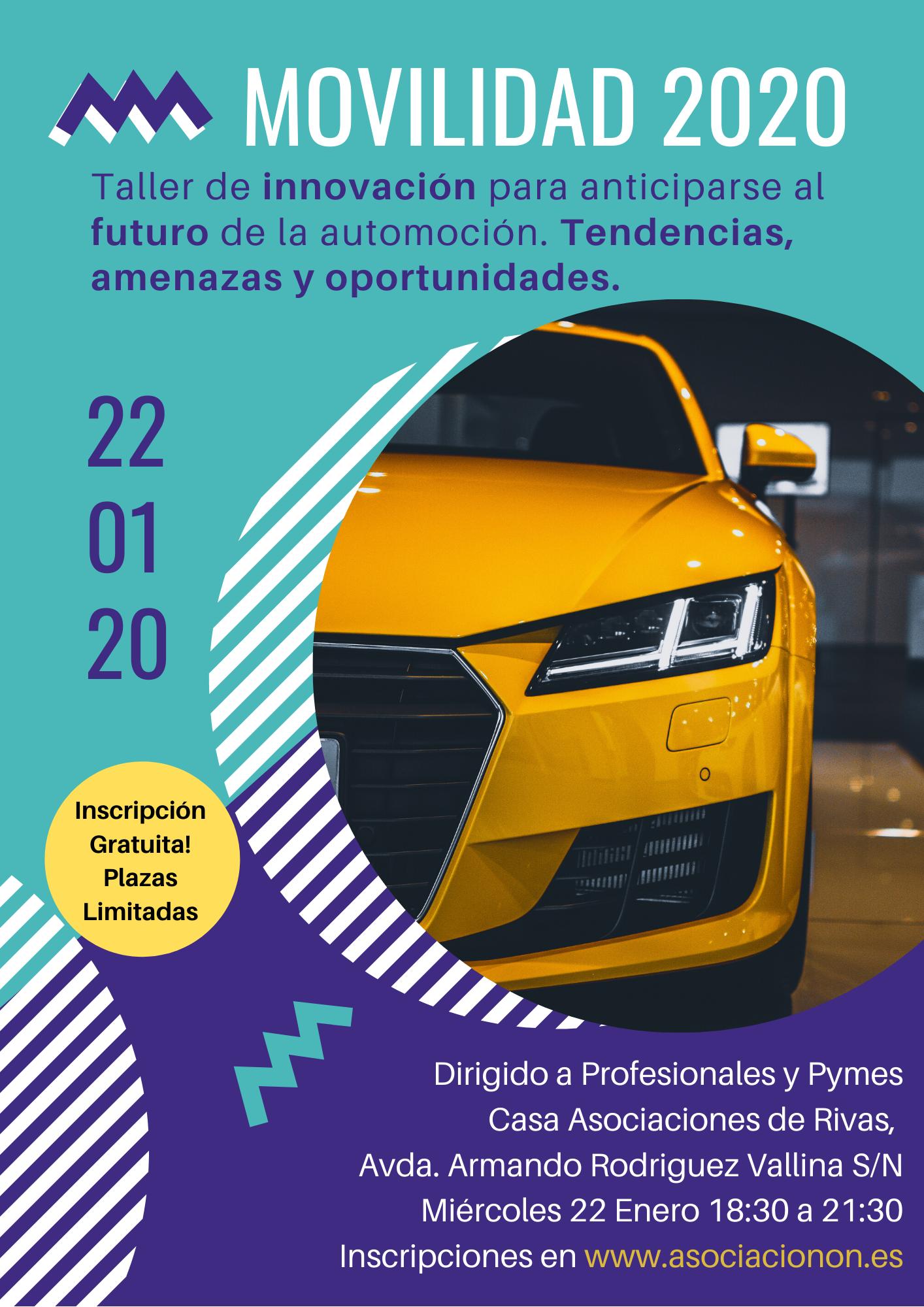 MOVILIDAD 2020. Taller de Innovación para anticiparse al Futuro de la Automoción. Tendencias, Amenazas y Oportunidades
